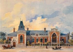 К. Гиппиус. Дом А.А. Бахрушина. 1896.