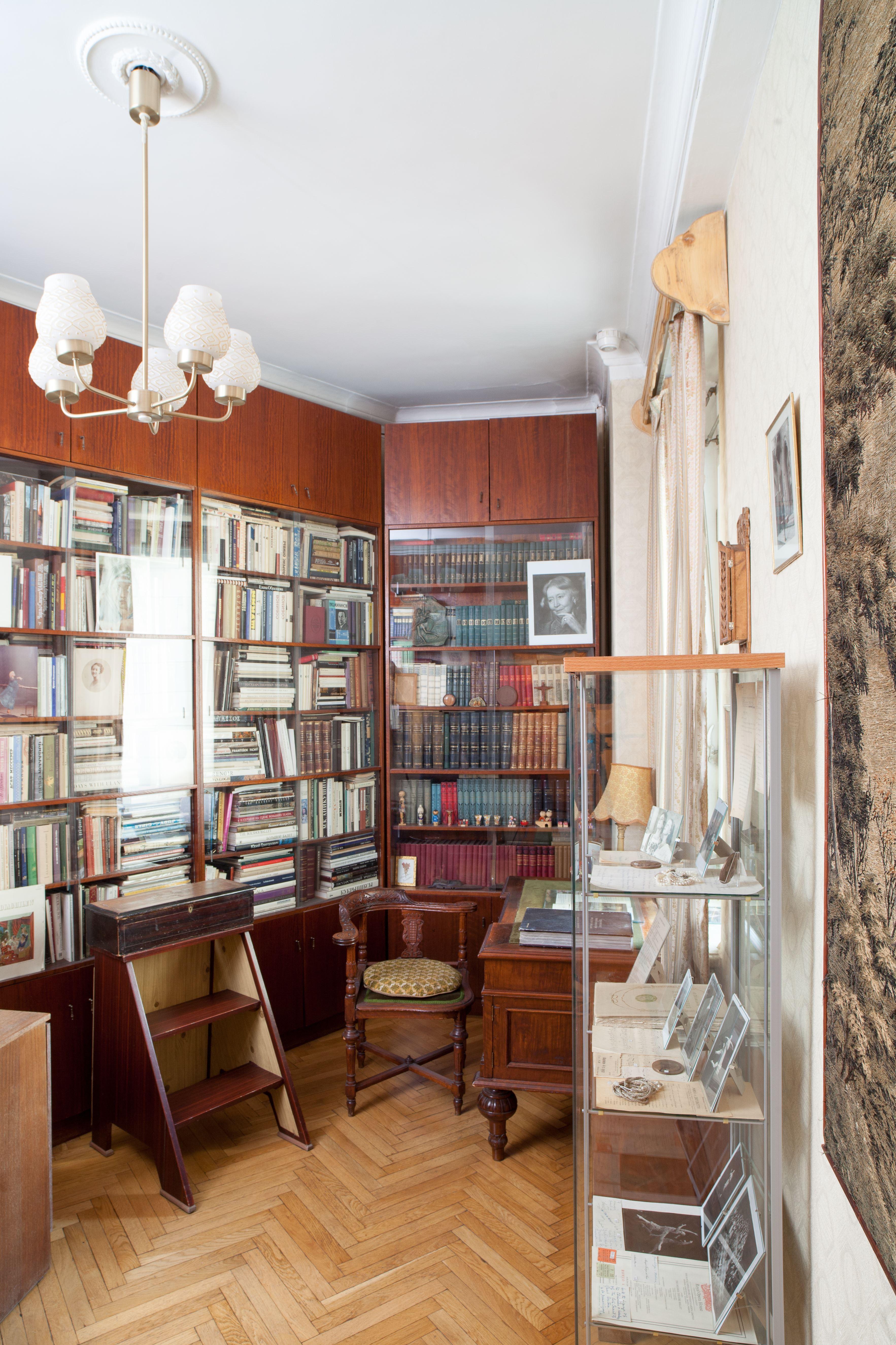 Библиотека Улановой 3