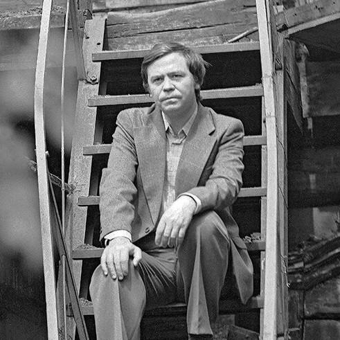 Валентин Распутин. Фото Бориса Дмитриева