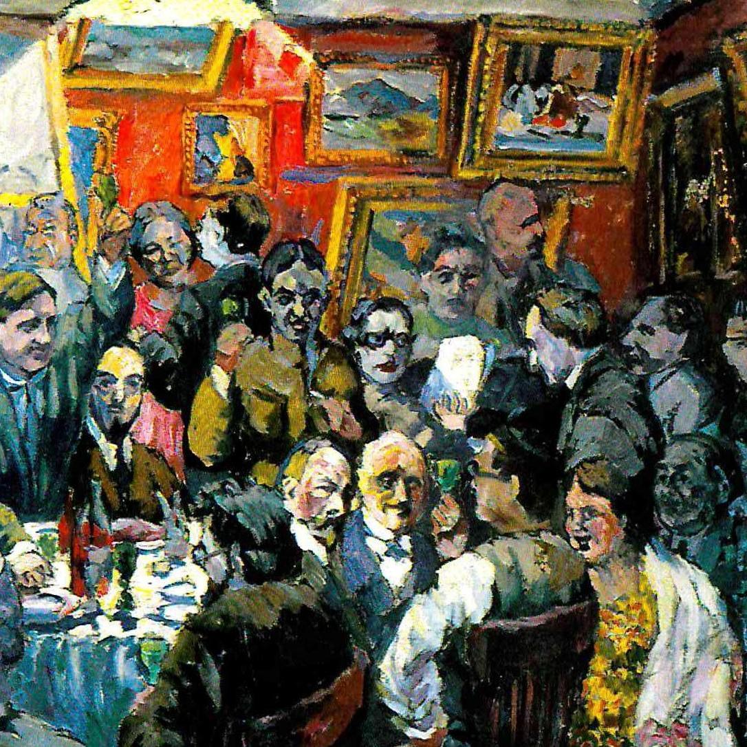 Московские художники. Эскиз. 1927 (1) (1)